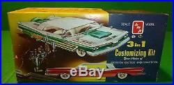 Smp 1959 Chevrolet Corvette Hardtop 3n1 Amt Model Car Mountain 1/25