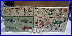 STARTED vintage model car kit 125 AMT 1961 Ford PICKUP Truck K-131 custom 3 in1