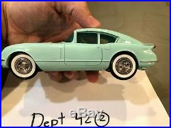 Scale Dreams 1954 Corvette Corvair Fastback Concept Car Promo Model Kit RARE