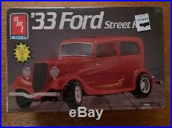 Sealed AMT 1933 & 1934 Ford Sedans Street Rod Model Car Kits