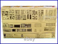 Skill 3 Model Kit Construction Bulldozer & Lowboy Trailer Set 1/25 Amt Amt1218
