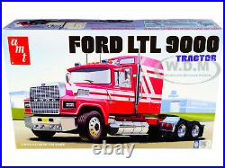 Skill 3 Model Kit Ford Ltl 9000 Semi Tractor 1/24 Scale Model By Amt Amt1238
