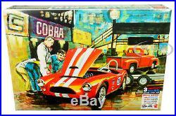 Skill 3 Model Kits'63 Shelby Cobra &'53 Ford Pickup & Trailer 1/25 Amt Amt1073