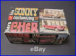Sonny Cher Amt 1/25 Customizing Kit George Barris Ford Mustang Convertible