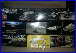 Star Trek AMT ERTl Lot of 3 U. S. S. Enterprise Model kits unused #6693-8617-6675