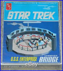Star Trek Classic TV U. S. S. Enterprise Command Bridge Model Kit AMT 1975, SEALED