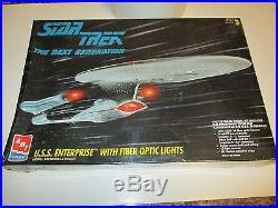 Star Trek Enterprise Fiber Optic Lights Model Kit AMT 8772