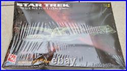 Star Trek Generations Klingon Bird Of Prey Model Kit by AMT Ertl 8230 SEALED