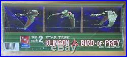 Star Trek Klingon BRel Class Scout Ship 1350 Scale Model Kit by AMT/Ertl