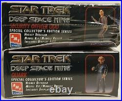 Star Trek Security Officer Odo & Quark Model Kits Made Bby Amt / Ertl In 1995