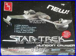 Star Trek TNG Vorcha Battle Cruiser, Bird of Prey, TMP, TOS 4 Klingon Model Kits