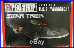 Star Trek The Next Generation U. S. S. Yamaguchi Clear Plastic Amt/ertl Kit (mi)