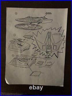 Star Trek USS Reliant Conversion Kit 1/537 RARE