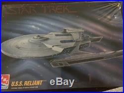 Star Trek USS Reliant and USS Enterprise AMT Sealed Model Kits
