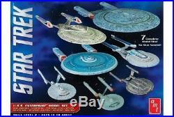 Star Trek U. S. S. Enterprise Box Set Snap Kits 1/2500 scale AMT model kit #954
