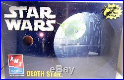 Star Wars Death Star Model Kit by AMT NEW Sealed
