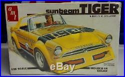 Sunbeam Tiger 125 Scale Model Nos Sealed Box Amt Lesney Matchbox Sunbeam Tiger