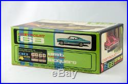 Super Rare Vintage AMT 1968 Chevy SS 427 1/25 Scale Model Car Kit # 6728-200