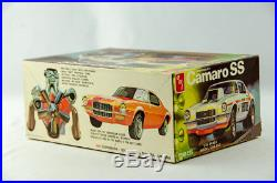 Super Rare Vintage AMT Chevy Camaro SS 1/25 Scale Model Car Kit # T359-225