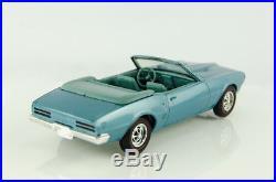 Super Rare Vintage AMT Promo 1968 Pontiac Firebird Convertible Alpine Blue