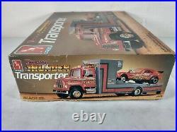 Tennessee Thunder Transporter AMT ERTL 125 Model Kit # 6636 Parts Lot