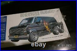 The Six Wheel Van Model Kit Sealed RARE AMT Ford Custom Van
