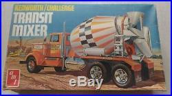Truck AMT Kenworth Challenge Transit Mixer 1/25 Scale Model RARE