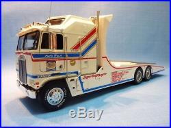 Tyron Malone's Kenworth Aerodyne Papa Truck 125 Scale AMT Detailed Plastic Kit