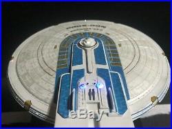 U. S. S. Excelsior Model, Lighted