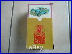 Ultra Rare Amt Unreal1958 Edsel Funny Car