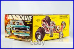 Ultra Rare Vintage AMT Chevy Nova Funny Car Novacaine 1/25 Model Car T382-225