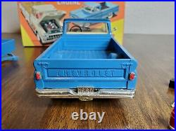 VHTF SMP AMT 1960 Chevrolet Pickup & Trailer 3-in-1 Kit (Professionally Built)