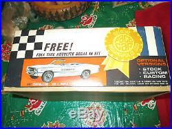 VINTAGE 1968 TORINO INDY 500 PACE CAR AMT MODEL KIT 125 SCALE Un-Built Box