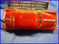VINTAGE AMT 1953 PONTIAC REMOTE CONTROL PROMO MODEL CAR WithBOX John Wright Motors
