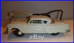 VINTAGE AMT 1953 PONTIAC REMOTE CONTROL PROMO MODEL CAR WithBOX VINTAGE GRAY