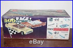 VINTAGE AMT 1961 CHRYSLER IMPERIAL CONVERTIBLE 3 in 1 MODEL KIT in SEALED BOX