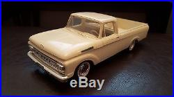 VINTAGE AMT 1961 FORD TRUCK UNIBODY MINT WHITE FOMOCO PROMO PROMOTIONAL MODEL