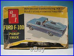 VINTAGE AMT 1/25 1963 FORD F-100 PICKUP TRUCK #8133-200 ANNUAL