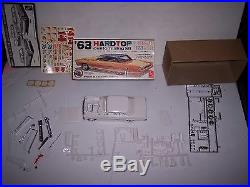 Vintage Amt 3 In 1 63 Chevy II Nova Model Car Kit Rare