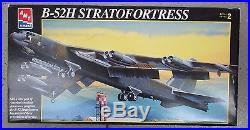 VINTAGE AMT ERTL 8623 B-52H STRATOFORTRESS AIRPLANE UNBUILT MODEL 172 IN BOX