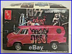 VINTAGE KISS 1977 AMT Custom Chevy Van MODEL KIT Aucoin UNassembled/Complete