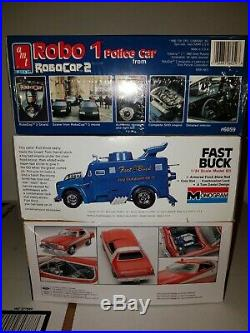 VINTAGE LOT MODEL CAR KITS Lot AMT/Monogram/Revell Sealed &Open