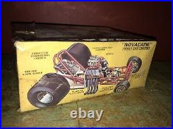 VINTAGE ORIGINAL MODEL KIT AMT # T382 NOVACAINE CHEVY NOVA FUNNY CAR Unopened