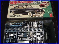 VTG 1963'49 Mercury Club Coupe Model/Kit AMT USA 02-349 Rare Time Capsule Kept