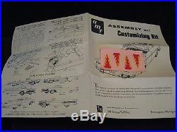 VTG. Orig. 1958 Edsel Pacer Model/Kit AMT USA 8EK Rare, Mint Time Capsule Kept
