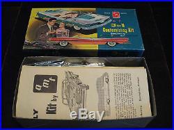 VTG. Orig. 1959 Pontiac Conv. Model/Kit AMT USA 8C Rare Mint Time Capsule Kept