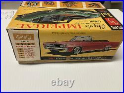 Vintage, 125, AMT, 1965 Chrysler Imperial Customizing Kit, Open Box, used