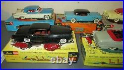 Vintage 1955 56 AMT Revell Built Model Lot Mercury Buick Cadillac Ford Chrysler