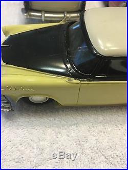 Vintage 1955 AMT Promo Plastic Metal Dodge Custom Royal Lancer Model Car Lot 7