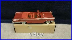 Vintage 1959 AMT Friction Mercury Park Lane Convertible Dealer Promo in Rose